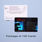 The Salvation Poem Cards: Pack of 100